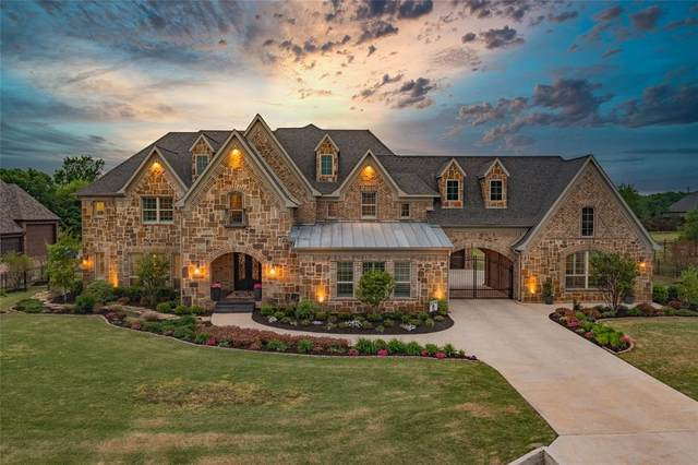 4 Victory Lane, Double Oak, TX 75077 (MLS #14549927) :: Real Estate By Design