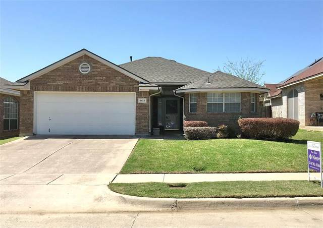 4133 Boulder Park Drive, Fort Worth, TX 76040 (MLS #14550461) :: The Rhodes Team