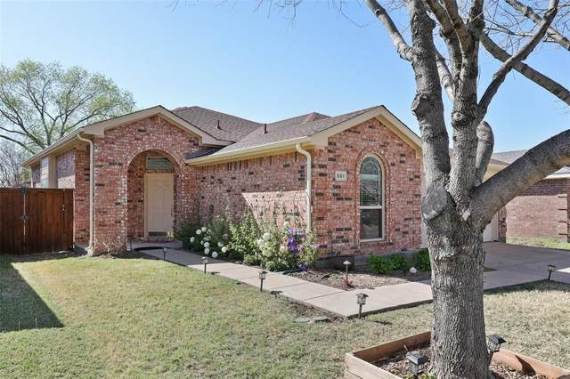 501 Port Arthur Drive, Little Elm, TX 75068 (MLS #14550615) :: The Good Home Team