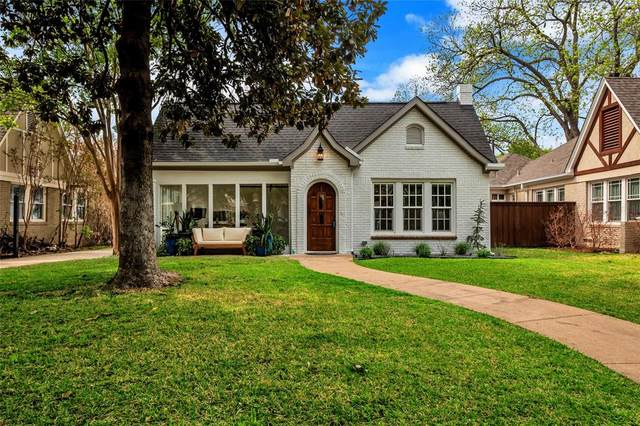 5922 Mercedes Avenue, Dallas, TX 75206 (MLS #14550773) :: The Chad Smith Team