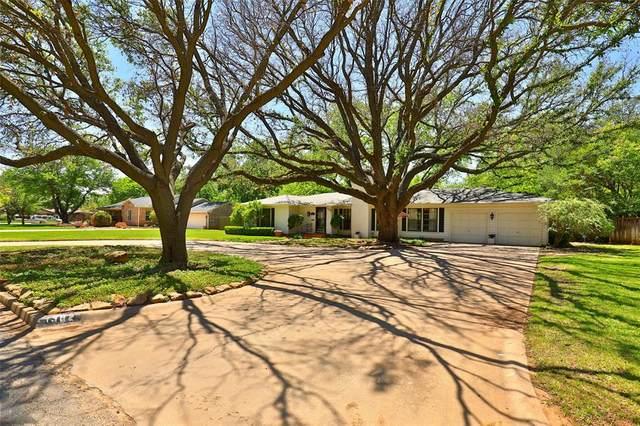 1382 Elmwood Drive, Abilene, TX 79605 (MLS #14550921) :: Real Estate By Design