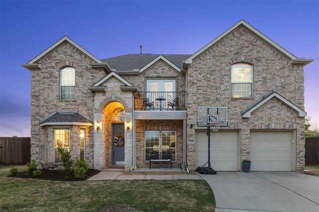 1119 Polo Heights Drive, Frisco, TX 75033 (MLS #14551094) :: The Heyl Group at Keller Williams