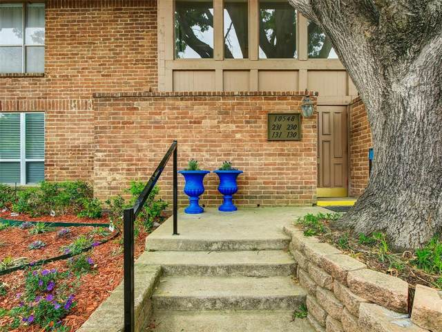 10548 Stone Canyon Road #130, Dallas, TX 75230 (MLS #14551174) :: The Good Home Team