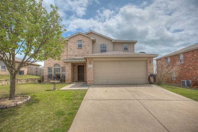 2431 Castle Pines Drive, Burleson, TX 76028 (MLS #14551337) :: The Chad Smith Team