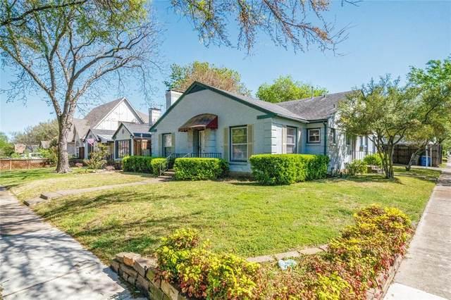 5802 Palm Lane, Dallas, TX 75206 (MLS #14551535) :: Premier Properties Group of Keller Williams Realty
