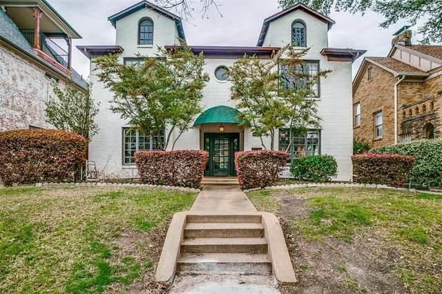 4117 Herschel Avenue 4119A, Dallas, TX 75219 (MLS #14551570) :: Lyn L. Thomas Real Estate | Keller Williams Allen