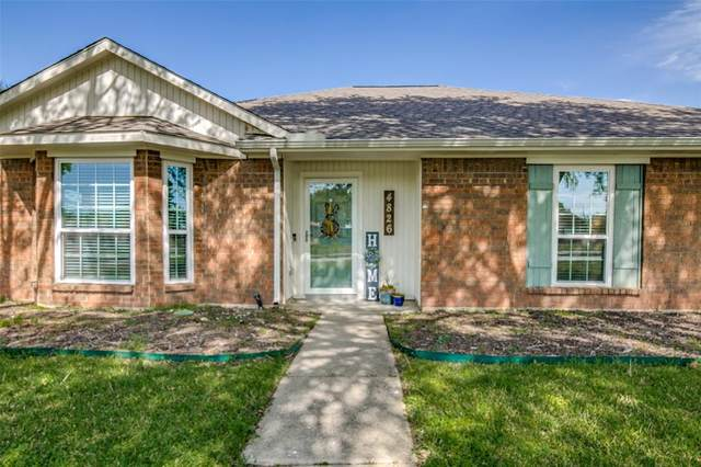 4826 Orchard Drive, Sachse, TX 75048 (MLS #14551802) :: The Good Home Team