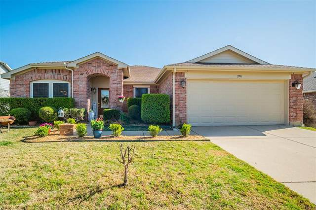 238 Hilltop Drive, Justin, TX 76247 (MLS #14551830) :: The Chad Smith Team