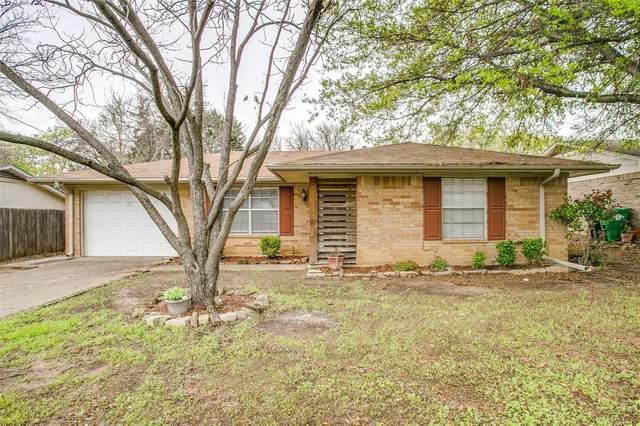 709 Driftwood Trail, Denton, TX 76209 (MLS #14551910) :: Team Tiller