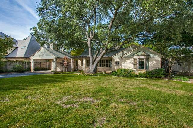 6203 Waggoner, Dallas, TX 75230 (MLS #14552028) :: Bray Real Estate Group