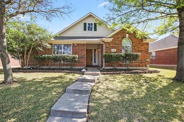 1540 Creek Springs, Allen, TX 75002 (MLS #14552136) :: The Good Home Team