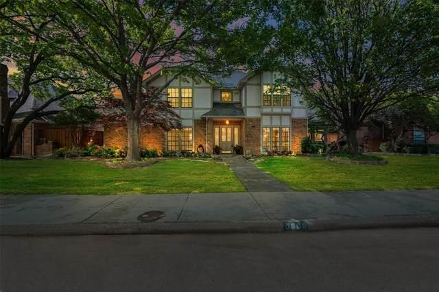 5909 Buffridge Trail, Dallas, TX 75252 (MLS #14552141) :: The Good Home Team