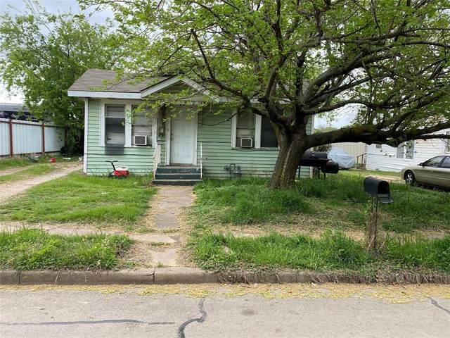 112 W Wilson Street, Cleburne, TX 76033 (MLS #14552169) :: Lyn L. Thomas Real Estate   Keller Williams Allen
