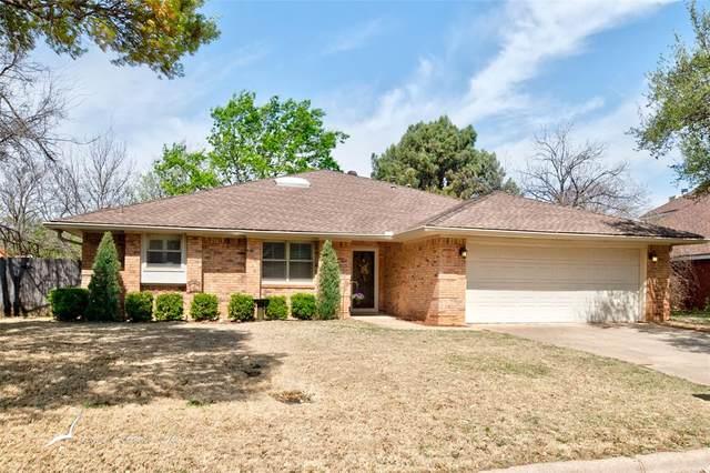 1722 Bent Tree Drive, Abilene, TX 79602 (MLS #14552433) :: Team Tiller