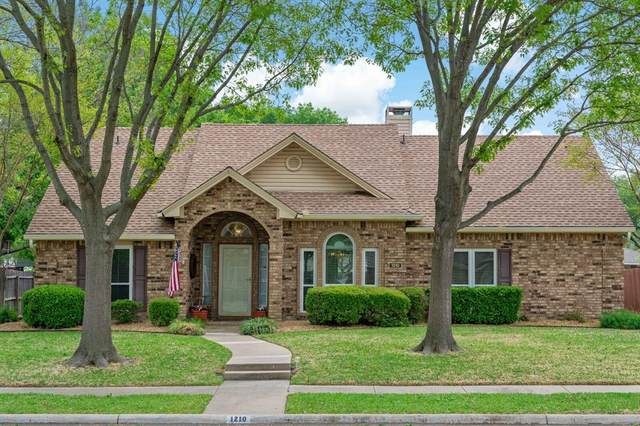 1210 Cardigan Street, Garland, TX 75040 (MLS #14552451) :: The Good Home Team
