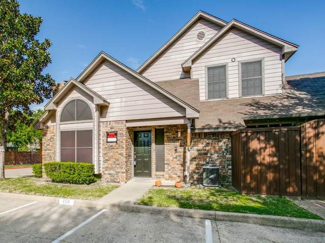 449 Harris Street O-102, Coppell, TX 75019 (MLS #14552475) :: Frankie Arthur Real Estate