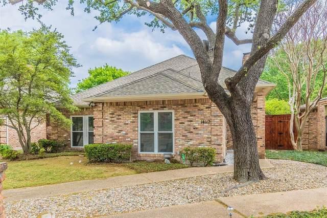 14112 Regency Place, Dallas, TX 75254 (MLS #14552500) :: Wood Real Estate Group