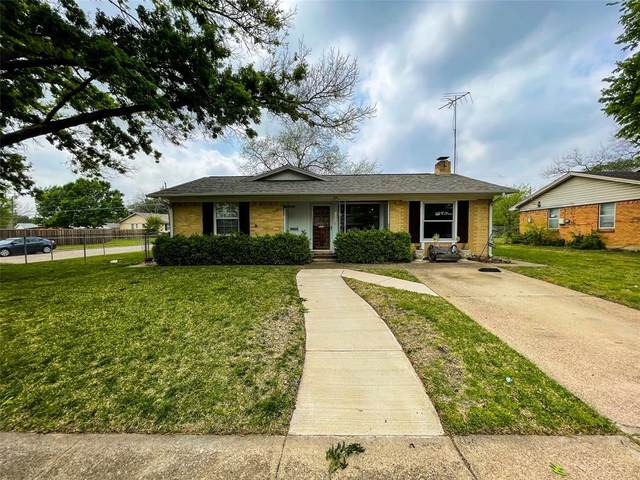 1301 Hillcrest Drive, Garland, TX 75040 (MLS #14552505) :: The Chad Smith Team