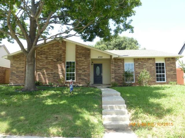 4328 Ireland Drive, The Colony, TX 75056 (MLS #14552534) :: The Good Home Team