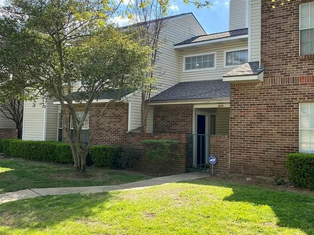 816 Creekside Drive, Lewisville, TX 75067 (MLS #14552669) :: The Tierny Jordan Network