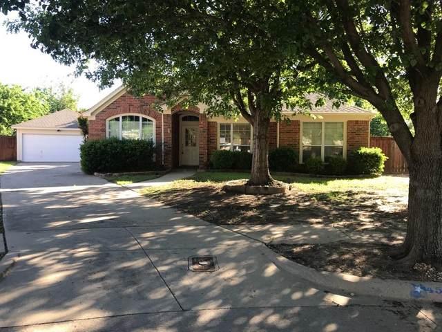 4513 Fountain Ridge Drive, Fort Worth, TX 76123 (MLS #14552757) :: The Chad Smith Team