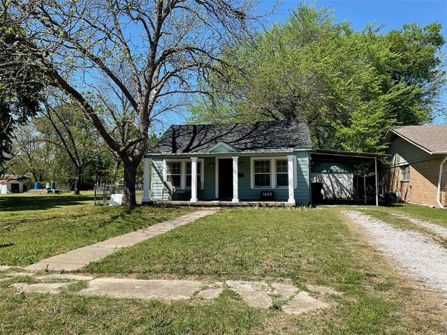 1423 Cherry Street, Gainesville, TX 76240 (MLS #14552772) :: Hargrove Realty Group