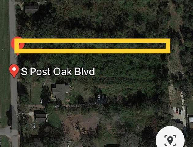TBD S Post Oak Blvd, Houston, TX 77545 (MLS #14552799) :: Bray Real Estate Group