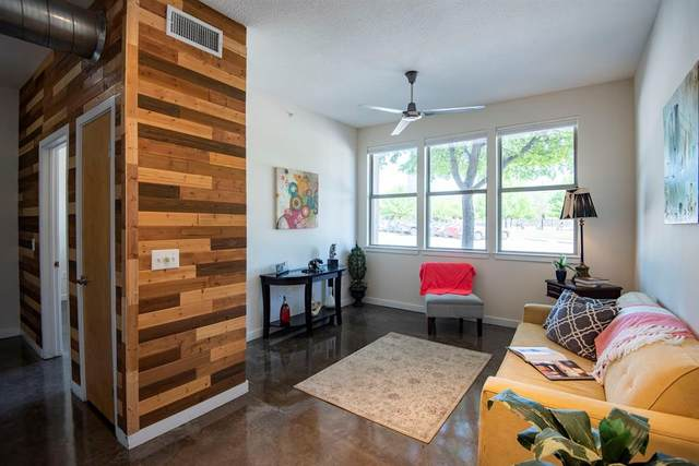 201 W Lancaster Avenue #116, Fort Worth, TX 76102 (MLS #14552818) :: Craig Properties Group
