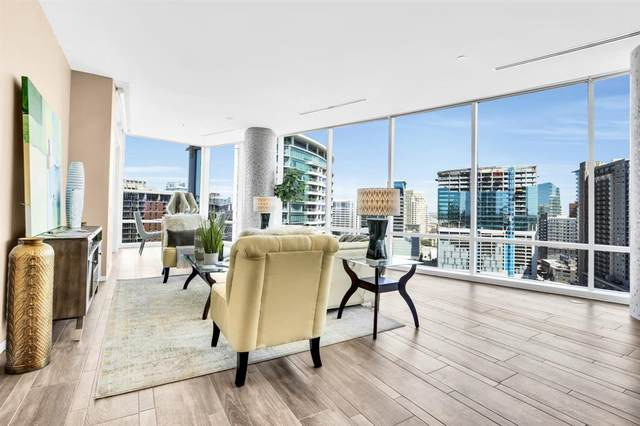 2430 Victory Park Lane #2109, Dallas, TX 75219 (MLS #14553045) :: All Cities USA Realty