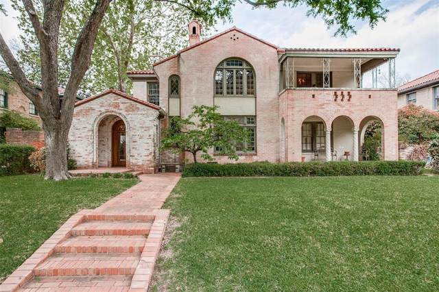 4522 Fairway Avenue, Highland Park, TX 75219 (MLS #14553078) :: RE/MAX Landmark