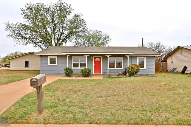 3334 Iris Street, Abilene, TX 79603 (MLS #14553115) :: The Hornburg Real Estate Group