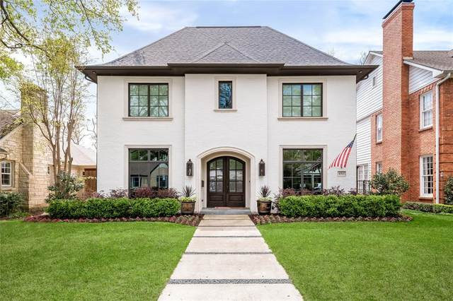 4313 Grassmere Lane, University Park, TX 75205 (MLS #14553254) :: RE/MAX Landmark