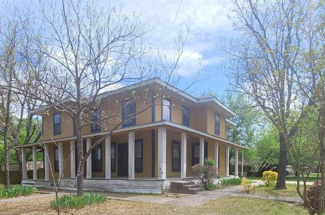 1109 Aldridge Street, Commerce, TX 75428 (MLS #14553513) :: 1st Choice Realty
