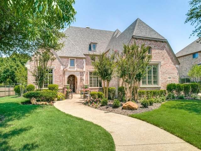 416 Stockton Drive, Southlake, TX 76092 (MLS #14553822) :: The Hornburg Real Estate Group