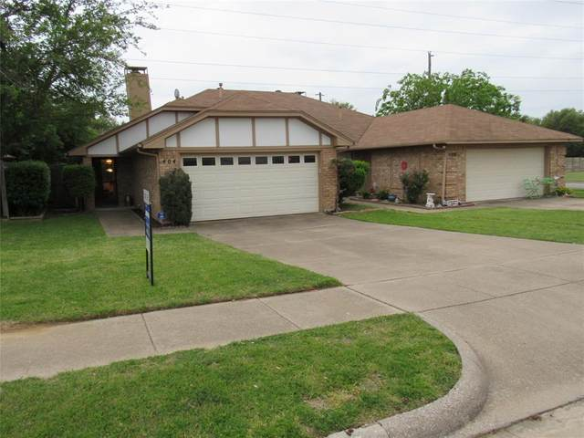 404 Sunnybrook Court, Bedford, TX 76021 (MLS #14553932) :: The Mitchell Group