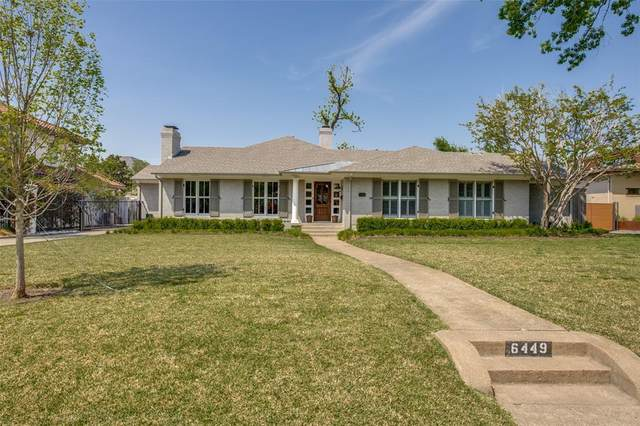 6449 Northport Drive, Dallas, TX 75230 (MLS #14554092) :: The Chad Smith Team