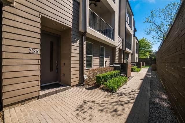 4211 Rawlins Street #733, Dallas, TX 75219 (MLS #14554261) :: Hargrove Realty Group