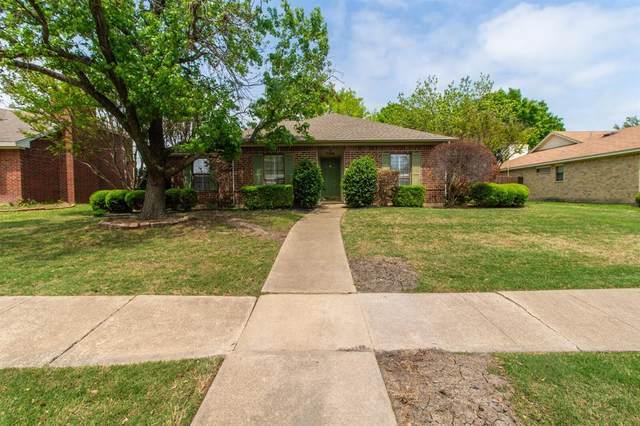 7705 Rice Drive, Rowlett, TX 75088 (MLS #14554287) :: Justin Bassett Realty