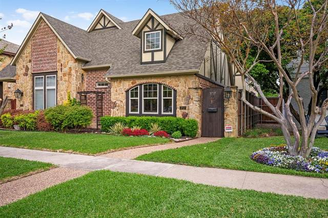 3717 W Beverly Drive, Dallas, TX 75209 (MLS #14554356) :: The Juli Black Team