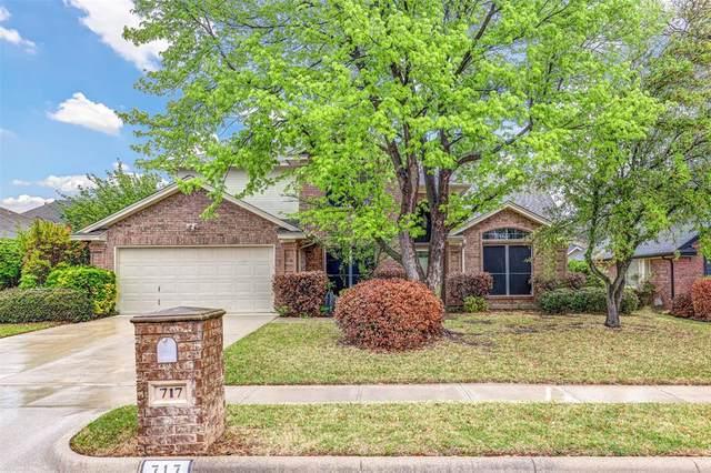 717 Carmel Drive, Keller, TX 76248 (MLS #14554460) :: The Mauelshagen Group