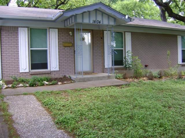 1404 Bluebonnet Drive, Fort Worth, TX 76111 (MLS #14554594) :: Team Hodnett
