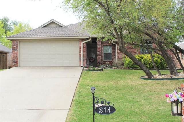 314 Cactus Valley, Stephenville, TX 76401 (#14554992) :: Homes By Lainie Real Estate Group