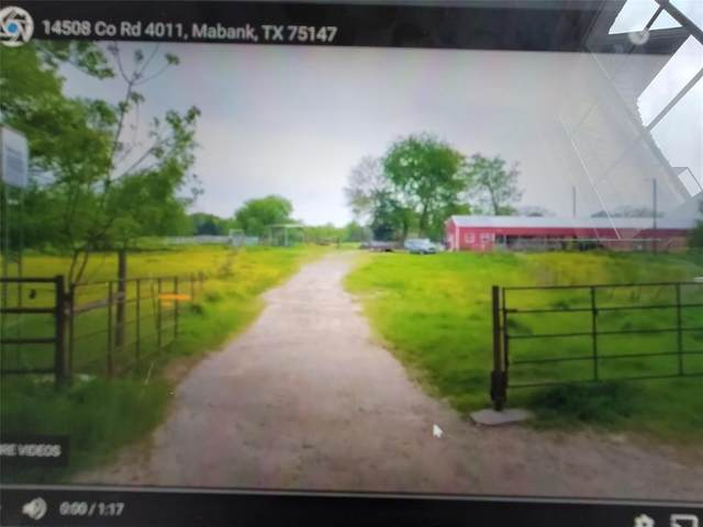 14508 County Road 4011, Mabank, TX 75147 (MLS #14555201) :: The Chad Smith Team
