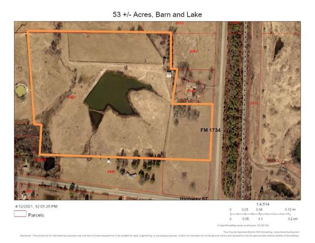 TBD Fm 1734, Mount Pleasant, TX 75455 (MLS #14555229) :: Real Estate By Design