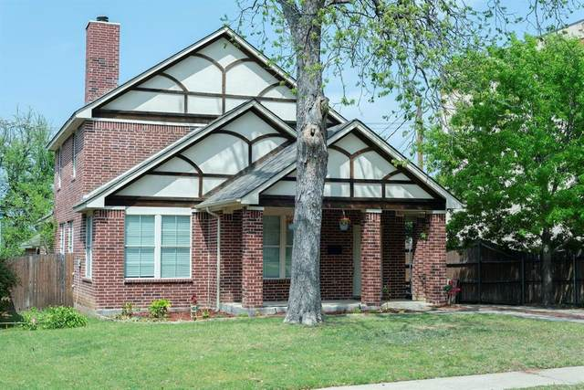 2314 W Rosedale Street S, Fort Worth, TX 76110 (MLS #14555357) :: All Cities USA Realty