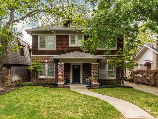 1825 Hillcrest Street, Fort Worth, TX 76107 (MLS #14555500) :: Feller Realty