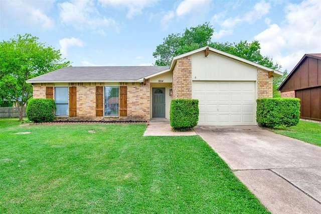 804 Grassy Glen Drive, Allen, TX 75002 (MLS #14555510) :: Feller Realty