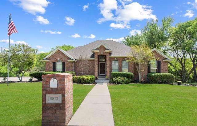 8812 Greenhaven Drive, Fort Worth, TX 76179 (MLS #14555620) :: Justin Bassett Realty