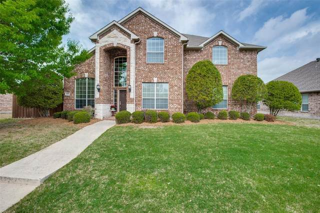 1007 Muir Woods Drive, Allen, TX 75002 (MLS #14555753) :: Justin Bassett Realty