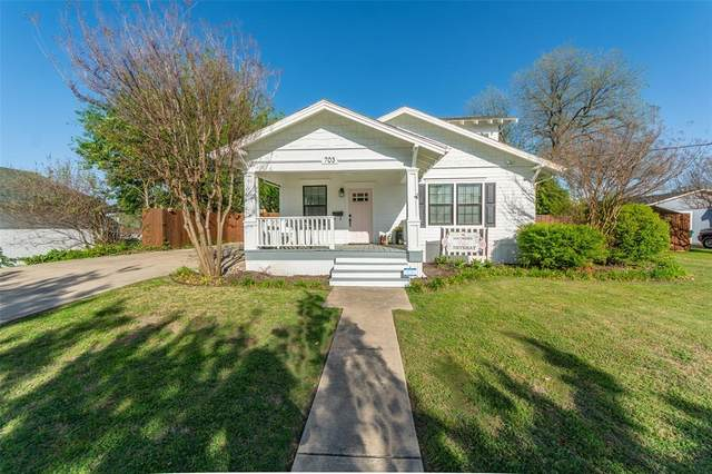 703 S Tennessee Street, Mckinney, TX 75069 (MLS #14556694) :: Team Hodnett